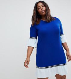 Платье в спортивном стиле Junarose - Синий