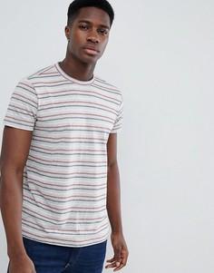 Серая футболка в полоску Esprit - Серый