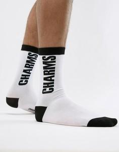 Белые носки с логотипом Charms - Белый Charm`S