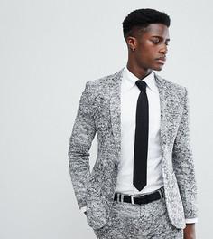 Трикотажный приталенный пиджак Noak - Серый