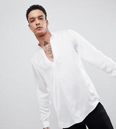 Рубашка с V-образным вырезом Heart & Dagger - Белый