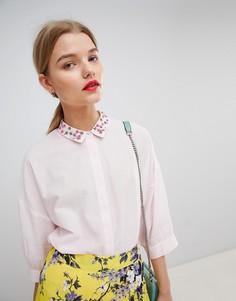 Рубашка Essentiel Antwerp - Розовый