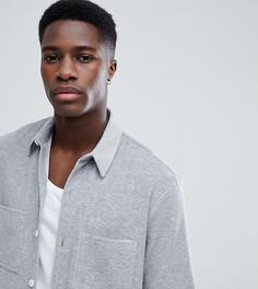 Махровая рубашка с короткими рукавами Noak - Серый