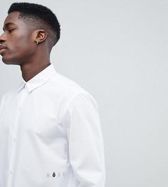 Oversize-рубашка с названием бренда Noak - Белый