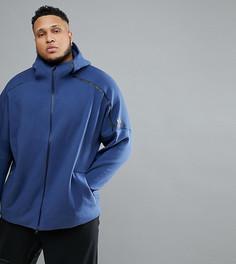Худи темно-синего цвета adidas PLUS ZNE 2 CE4259 - Темно-синий