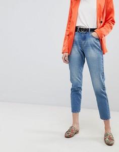 Укороченные джинсы в винтажном стиле Vero Moda - Синий