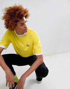 Желтая футболка с логотипом VFILES - Желтый