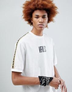 Серая футболка с логотипом VFILES - Серый