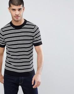 Трикотажная футболка Weekday Joni - Черный