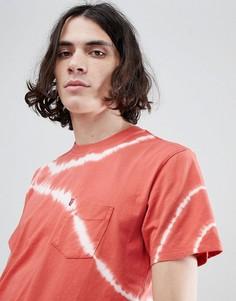 Красная футболка с карманом и принтом тай-дай Levis Sunset - Красный Levis®