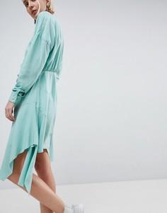 Платье мини ASOS WHITE - Зеленый