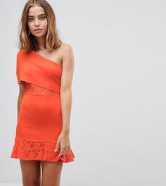 Облегающее платье ASOS PETITE - Оранжевый