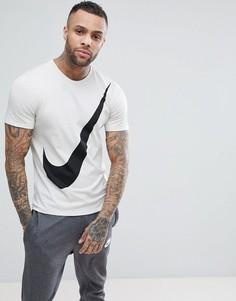 Белая футболка с галочкой Nike 891871-072 - Белый