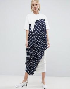 Платье-футболка ASOS WHITE - Белый