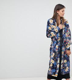 Кимоно с цветочным принтом Y.A.S Tall - Мульти