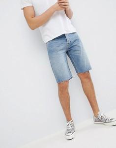 Синие джинсовые шорты Mennace - Синий