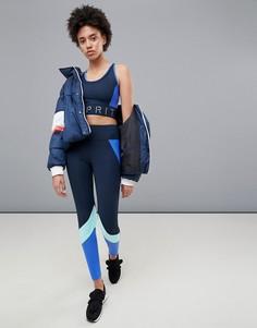 Леггинсы в стиле колор блок Esprit Gym - Черный