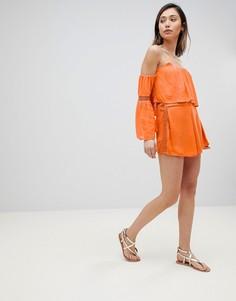Комбинируемые пляжные шорты Influence - Оранжевый