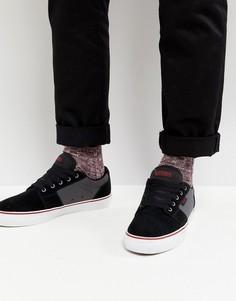 Черные кроссовки Etnies Barge LS - Черный