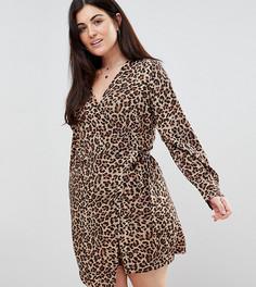 Платье с запахом и асимметричным краем Unique 21 Hero Plus - Мульти