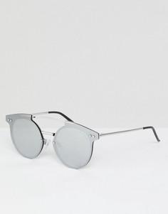 Зеркальные солнцезащитные очки Cheap Monday - Серебряный