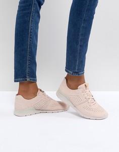 Розовые кроссовки UGG - Розовый