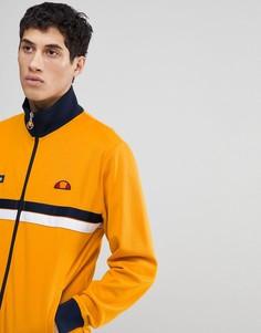 Оранжевая куртка с воротником-стойкой ellesse - Оранжевый