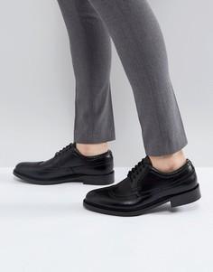 Черные кожаные броги ALDO Branton - Черный