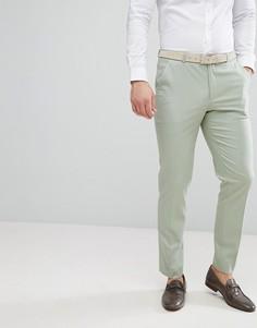 Зеленые брюки скинни ASOS Wedding - Зеленый