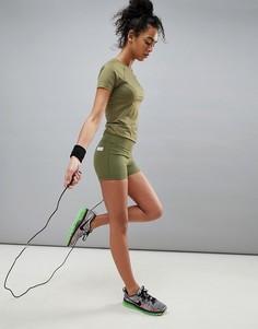 Короткие спортивные шорты ASOS 4505 - Зеленый