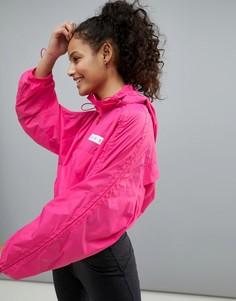 Укороченная куртка с капюшоном ASOS 4505 - Розовый