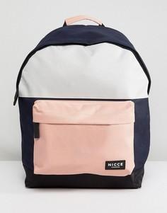 Рюкзак с розовыми вставками Nicce London - Розовый