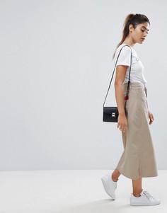 Юбка-трапеция миди Calvin Klein Jeans - Рыжий