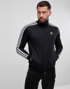 Черная спортивная куртка adidas Originals adicolor Beckenbauer CW1250 - Черный