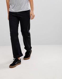 Темные джинсы с 5 карманами Levis Skateboarding 501 Original - Темно-синий