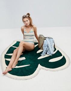 Пляжное полотенце с тропическим принтом Ban.Do - Мульти
