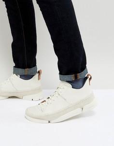 Белые кроссовки Clarks Originals - Белый
