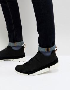 Черные кроссовки Clarks Originals - Черный