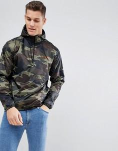 Куртка с камуфляжным принтом Nicce London - Зеленый