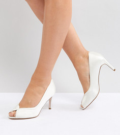 Туфли на каблуке для широкой стопы ASOS SUMMER - Кремовый