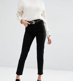 Черные узкие джинсы в винтажном стиле с завышенной талией ASOS DESIGN Farleigh - Черный
