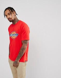 Красная футболка с логотипом Dickies - Красный