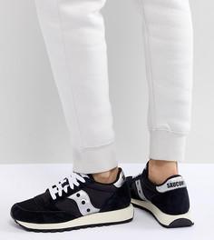 Черно-белые кроссовки Saucony Jazz Original Vintage - Черный