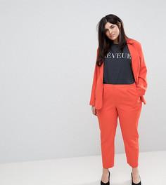 Комбинируемые брюки-сигареты Unique 21 Hero Plus - Оранжевый