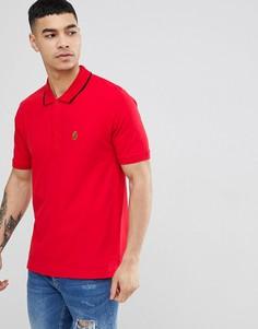 Красная футболка-поло с короткими рукавами Luke Sport Mead - Красный