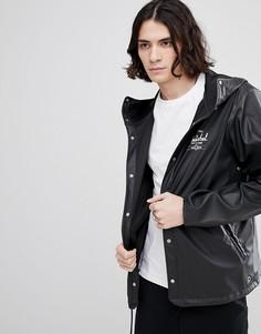Черная непромокаемая куртка с капюшоном Herschel Supply Co Forecast - Черный