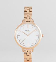 Наручные часы цвета розового золота Limit эксклюзивно для ASOS - Золотой
