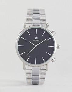 Часы с контрастным циферблатом ASOS - Белый