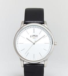 Часы с ремешком из искусственной кожи Limit эксклюзивно для ASOS - Черный