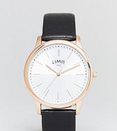 Часы с черным ремешком из искусственной кожи Limit эксклюзивно для ASOS - Черный